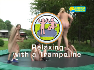 0.jpgNaturist Freedom. Relaxing On A Trampoline.