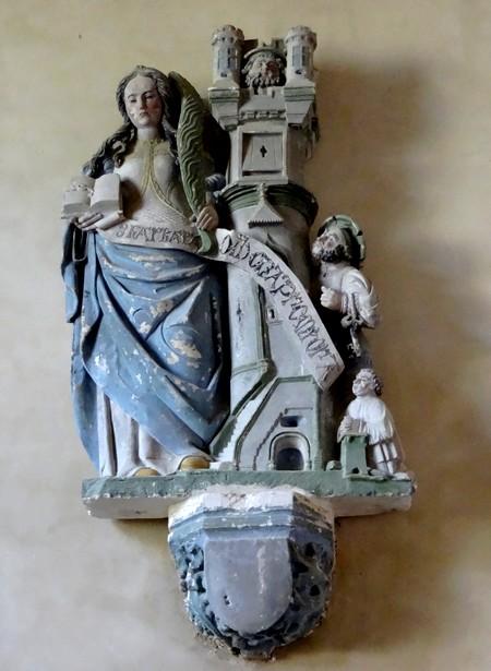 L'église de Poiseul la Ville