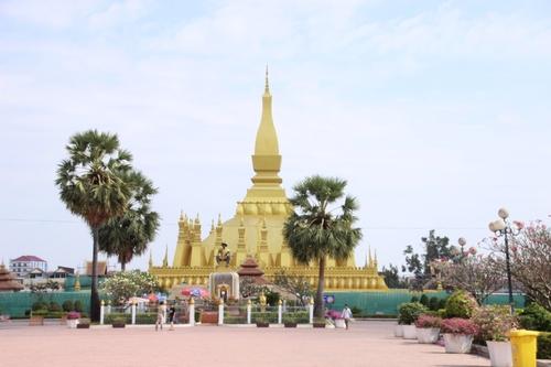 Vat Phra That Luang à Vientiane