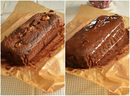 Gâteau Chocolat et Poires entières