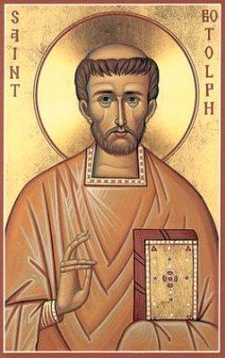 Saint Botolf  ou Botolph († 655).