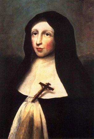 Bienheureuse Marie-Catherine de St Augustin, religieuse hospitalière de la Miséricorde († 1668)
