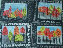 """Projet arts """"la forêt, les arbres"""" 2015 / 2016 (partie 2)"""