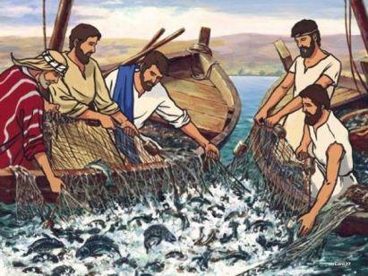 Méditation : « Sur ta Parole » Laissant tout, ils le suivirent » (Luc 5, 1-11)