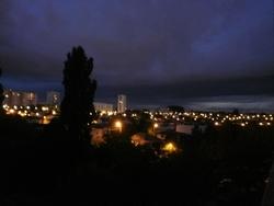 nuit de juillet, orage ayant procoqué de gros dégâts en Gironde
