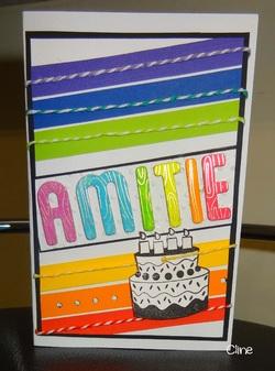 carte d'anniversaire pour une collègue
