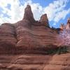 Un vortex dans le désert de Sedona