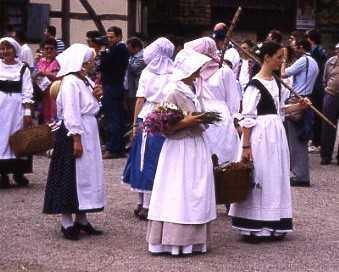 Alsaciens aux champs