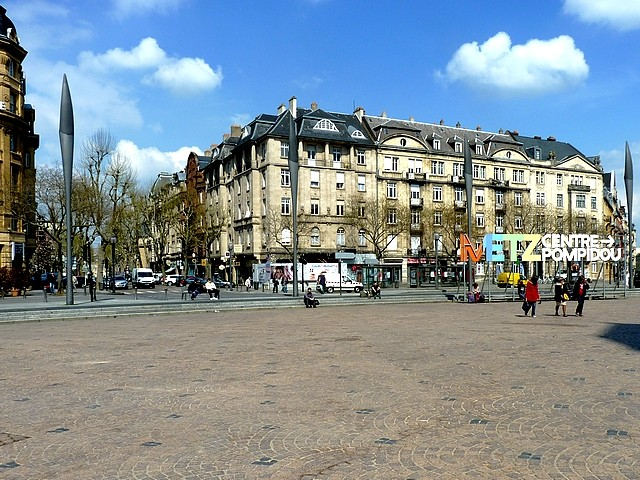 Place de la Gare Metz 8 Marc de Metz 2012