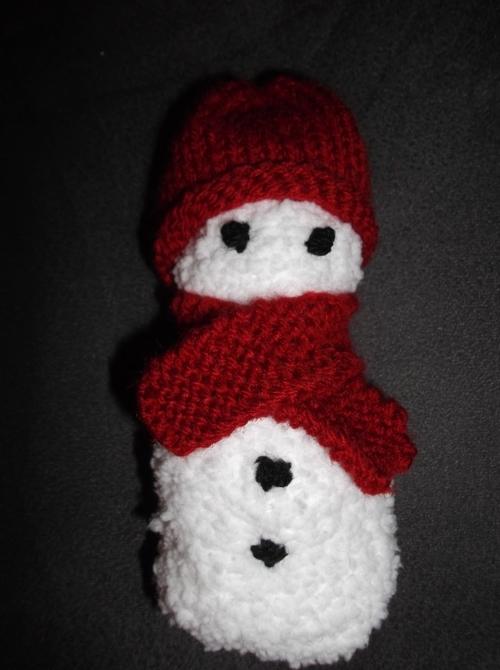 Bonhommes de neige et sapin de noël
