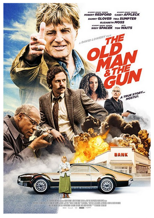 The old man and the gun, David Lowery, 2018