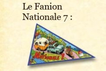 FANION NATIONALE 7A