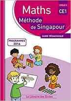 Programmation des Mathématiques pour la classe de CE1