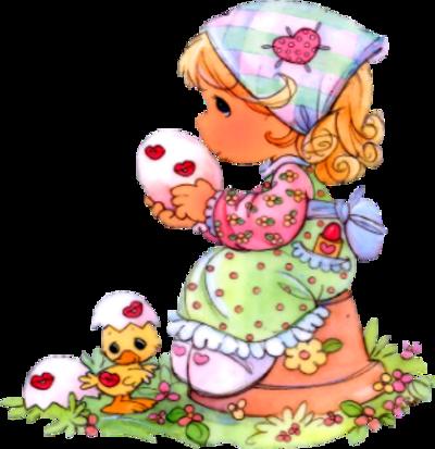 Pâques personnage 1