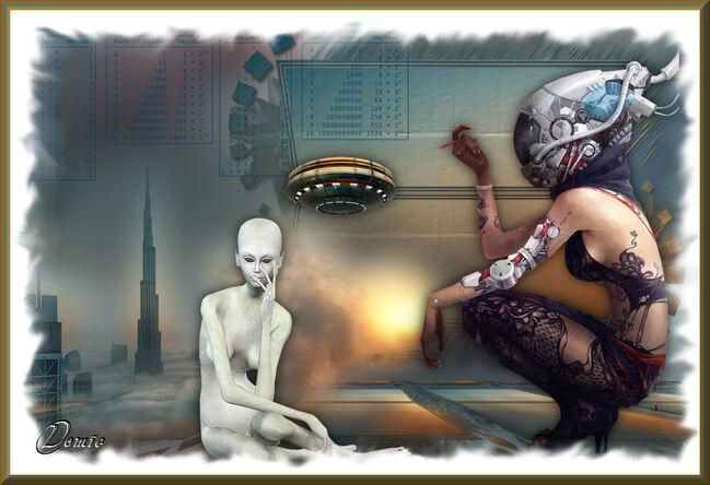 Nouvel an - Janvier 2019 Steampunk OVNI