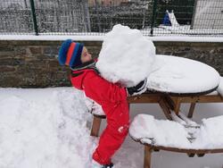 Les joies de la neige !!!