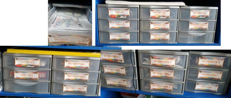 Étiquettes Boites ateliers