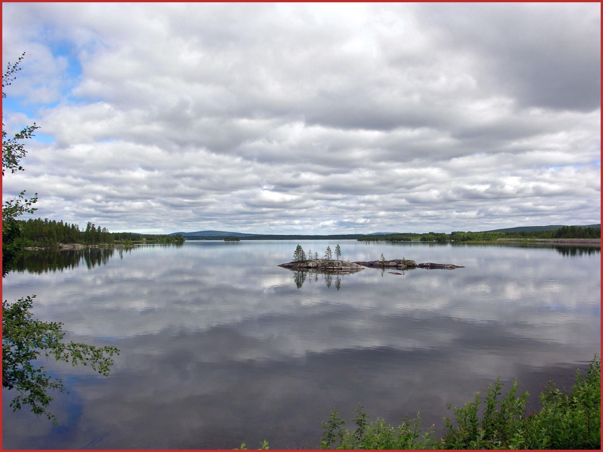 Paysage du Norrbotten près de Gällivare