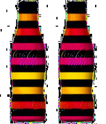 tube coca cola