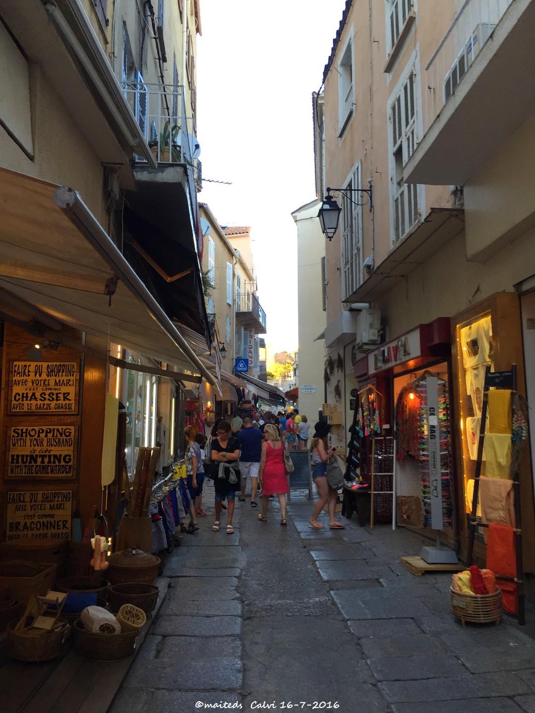 Dans les rues de Calvi