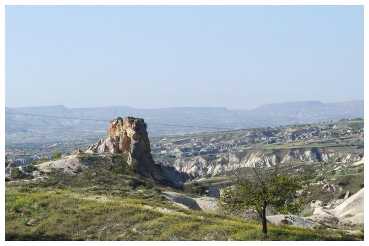 Dans les environs d'Ürgüp en Cappadoce