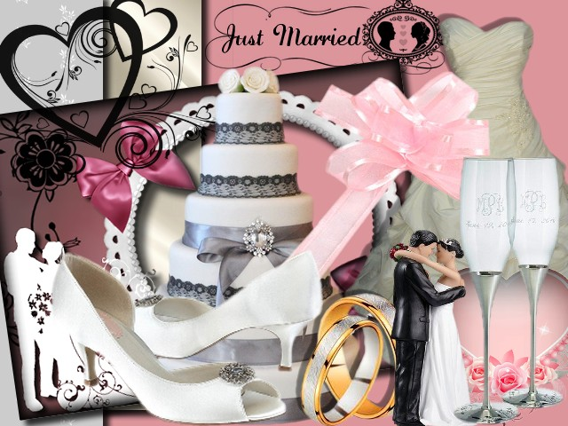 "Kit Digiscrap ""Just Married"""