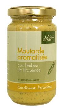 SAPIDUS moutarde aux herbes de Provence