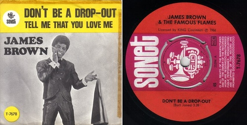 JAMES BROWN - Don't Be a Drop-Out