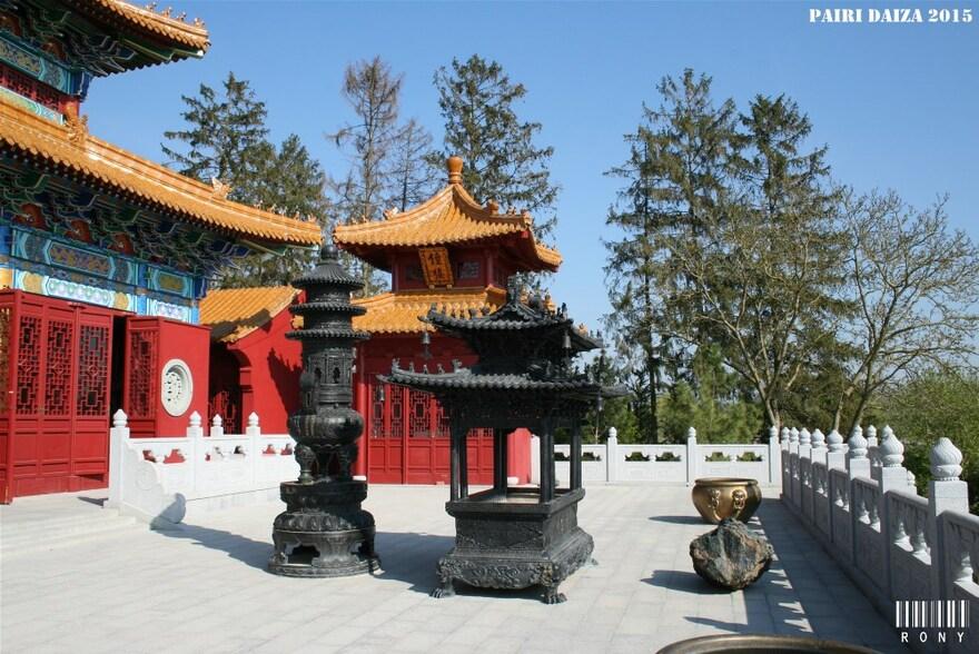 Première visite de l'année a Pairi Daiza