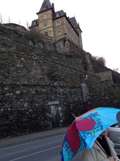 Parapluies en balade...
