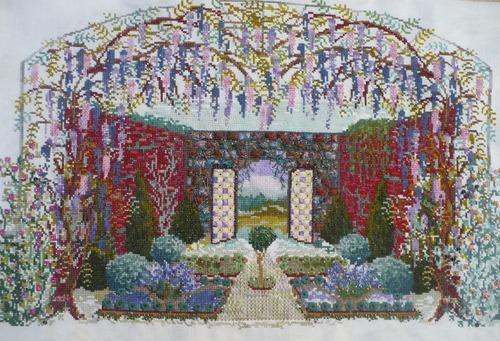 """""""Wisteria Wall garden"""""""