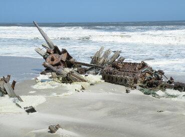 La côte des squelettes.