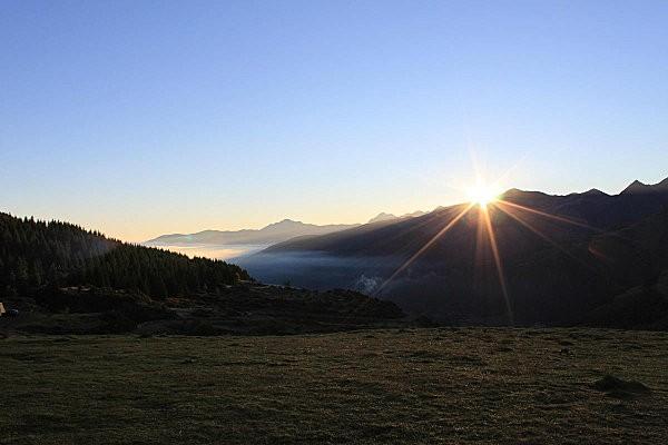 lever de soleil depuis le soulor 5