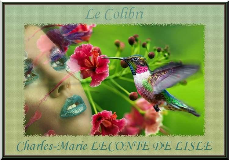 """"""" Le Colibri """" poème de"""