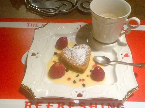 Petits cakes au yaourt Fraise et Mascarpone - Thermomix