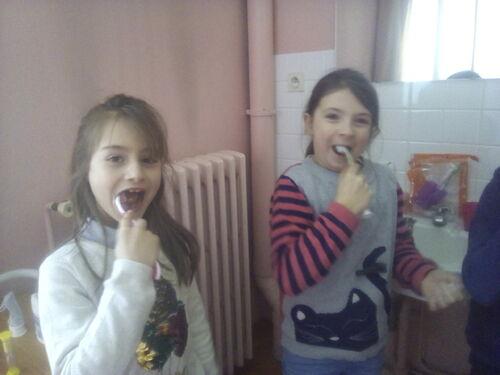 Apprendre à se brosser les dents