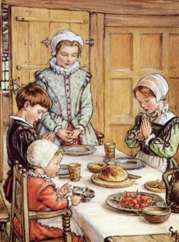 Le bénédicité et la prière d'action de grâces