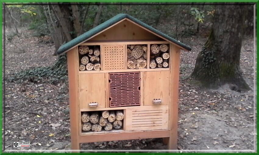 Protection des animaux,écologie,pas de chasse,un bois de réserve des oiseaux a Langon que j'ai  trouvé