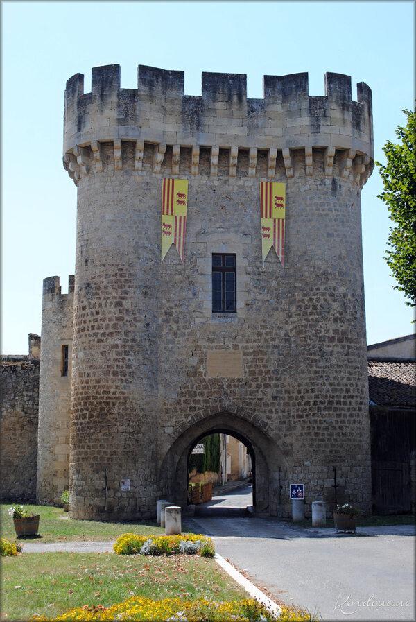 Photo de la porte du Lhyan - Rions - Gironde