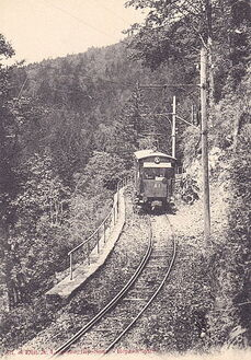 File:Largeron 77 - GERARDMER - Le Tramway électrique faisant l'ascension du Hohneck.jpg