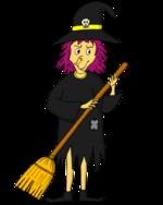 Dessin - La sorcière