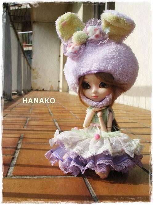 Hanako sur le balcon~