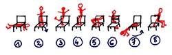 La chaise: objet acrobatique et gymnique en P4