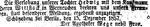 verlobungsanzeige vom Dezember 1857