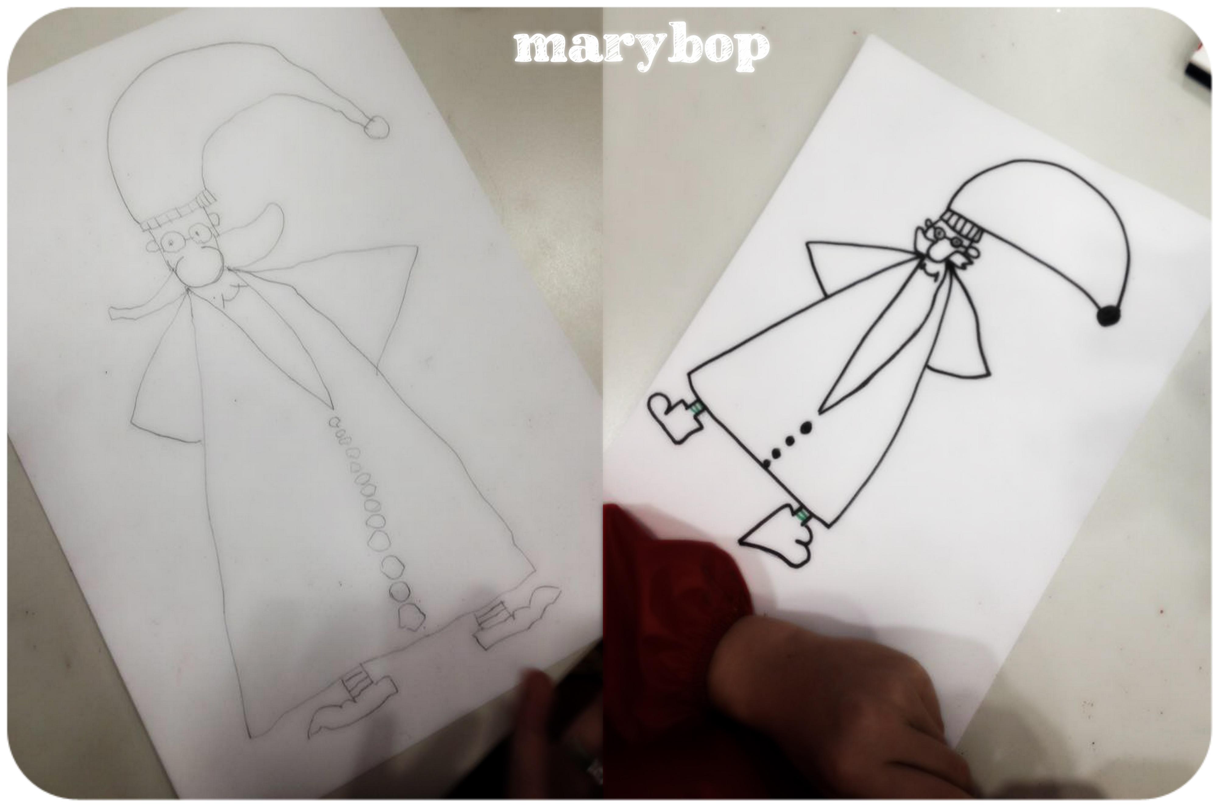 Dessin Dirige Petit Papa Noel La Classe De Marybop