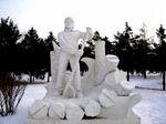 """Sculptures contemporaines. (Communauté""""entre ombre et lumière"""") 4 février."""