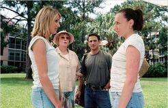 In her shoes : Photo Cameron Diaz, Curtis Hanson, Shirley MacLaine, Toni Collette