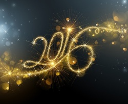 Mini SAL Bonne Année 2016 !