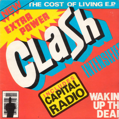 Les SINGLéS # 55 : The Clash - The Cost of Living EP (1979)