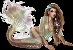 La Sirène du temps jadis  Défi de chez Arlette